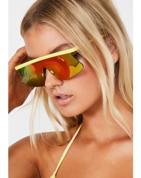 Electric Storm Crasher Shield Sunglasses