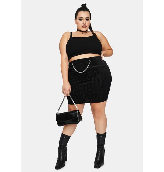 Sinful Wild Waiting Game Mini Skirt