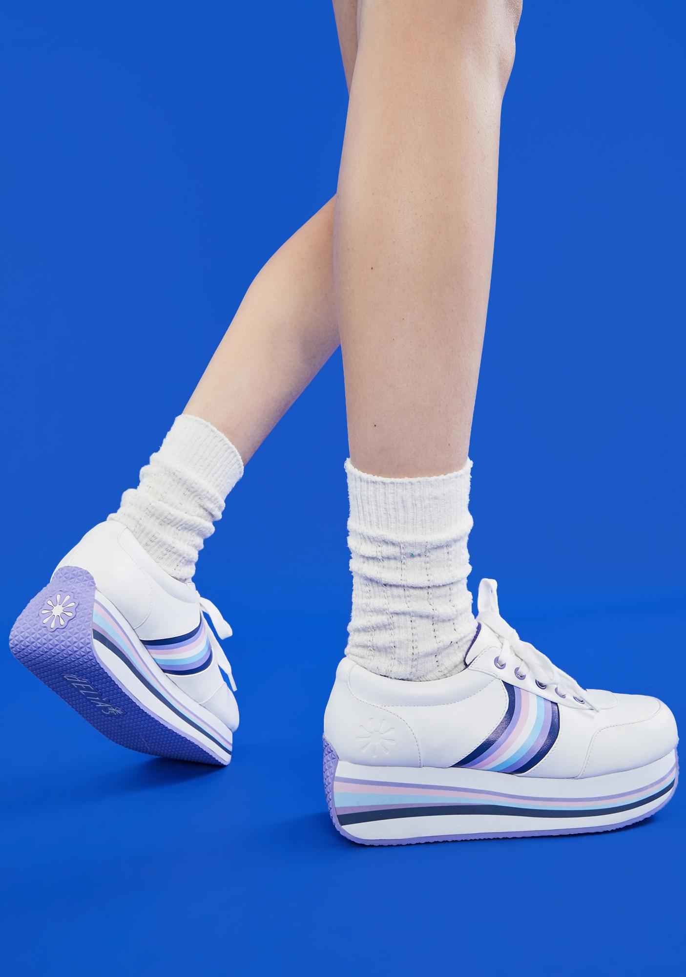 dELiA*s by Dolls Kill A Thousand Miles Platform Sneakers