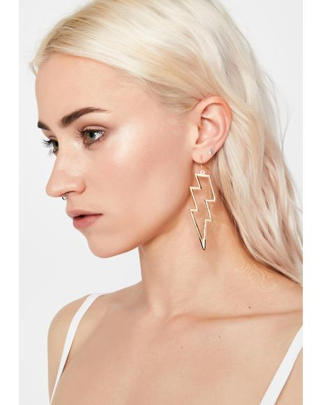 Zip Zap Lightning Earrings