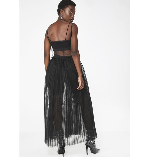 Kiki Riki Sheer Savage Maxi Dress