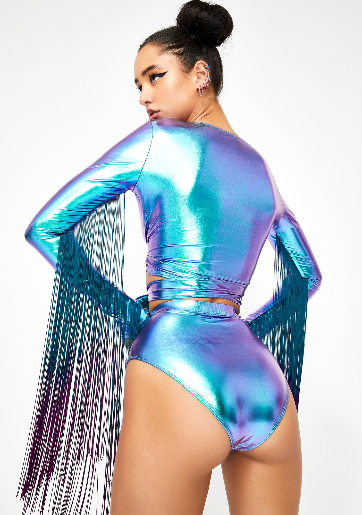 Club Exx Euphoric Element Metallic Bottoms