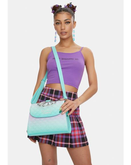 The Little Mermaid Ombre Crossbody Bag