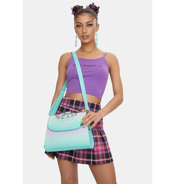 Loungefly The Little Mermaid Ombre Crossbody Bag