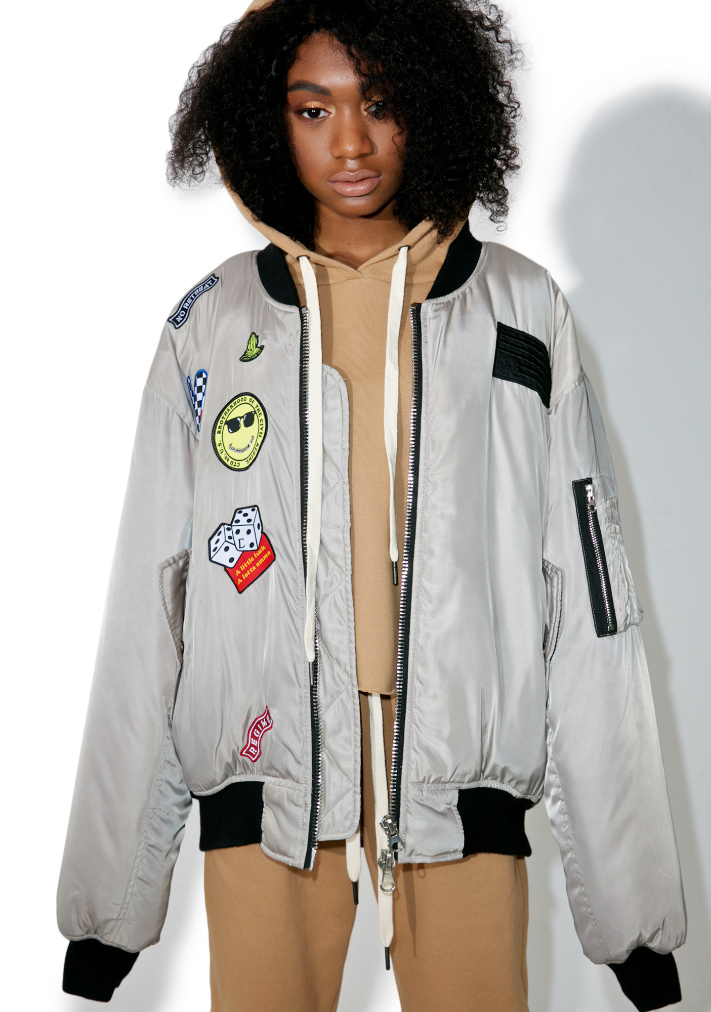 Civil Clothing Dillion Bomber Jacket