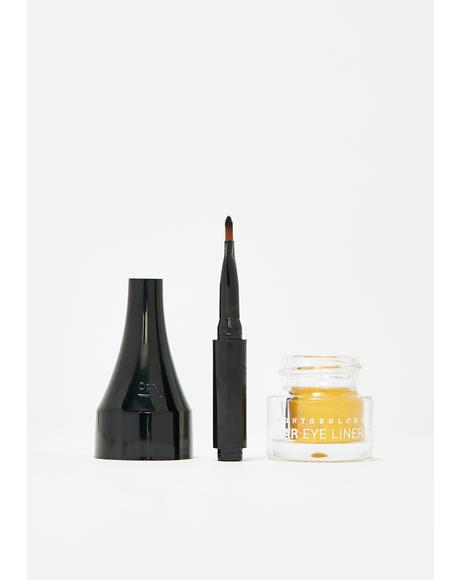 Glitzy Gold Fantabulous Jar Eye Liner