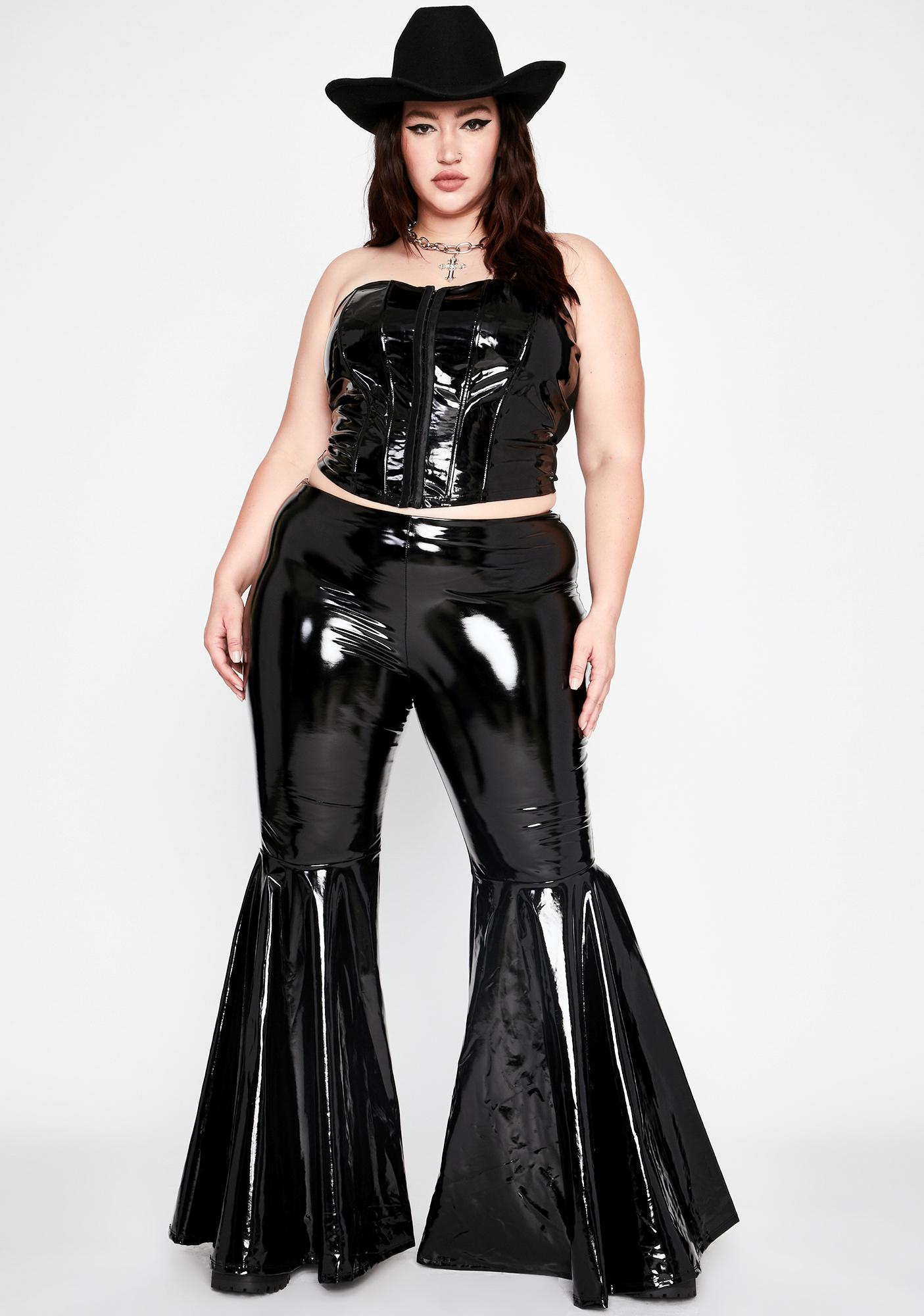 Wicked Ur Mistress Cherry Patent Corset