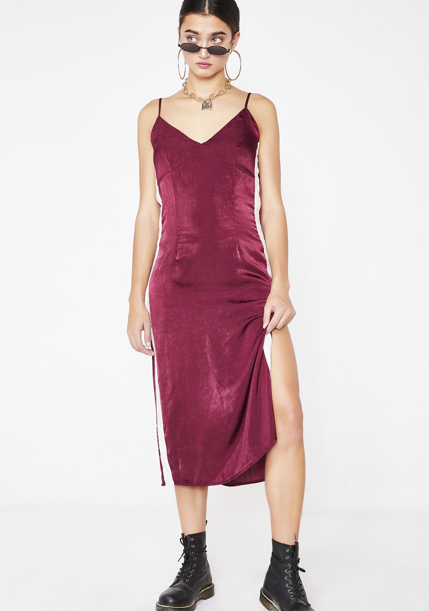 Fine Like Wine Stripe Dress