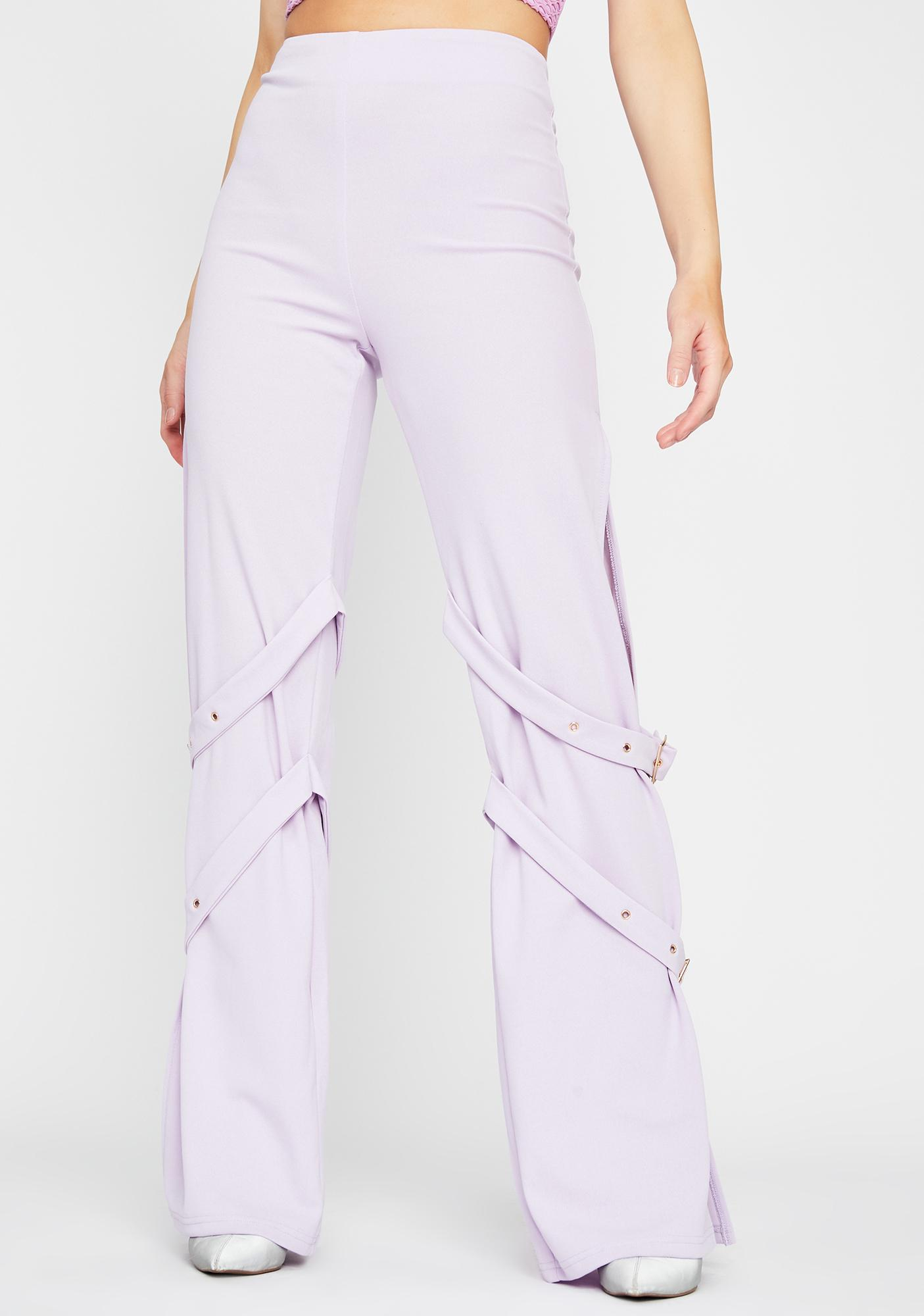 Orchid Rules To Break Buckle Pants
