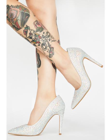 Diva Conduct Rhinestone Heels