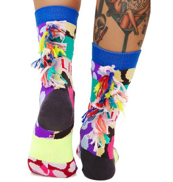 Stance x Libertine Magic Eye Socks