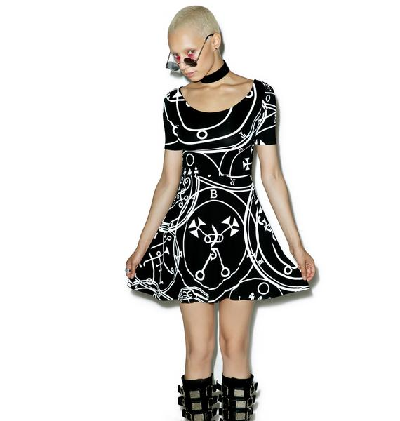 Killstar Sigil Skater Dress