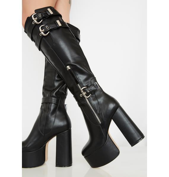 Lamoda Come Through Platform Boots