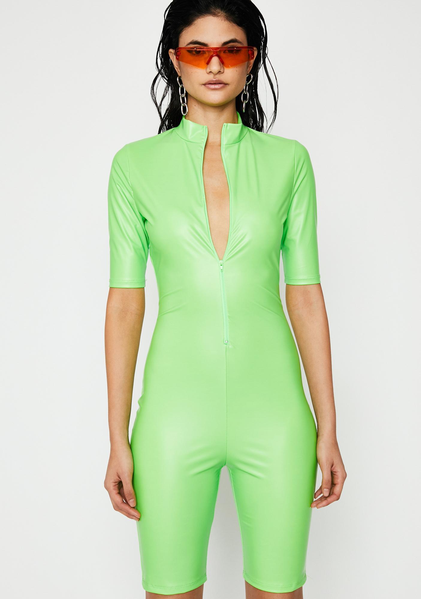 3f9ba7a5993 Nuclear Fashion Obsession Coated Romper