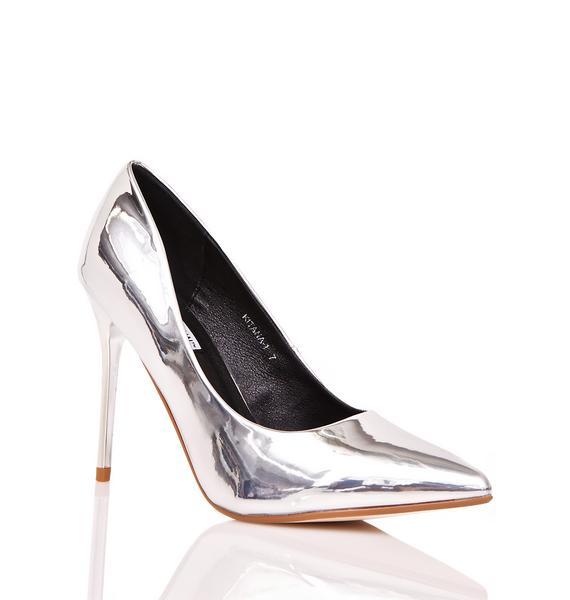 Kita Metallic Heels