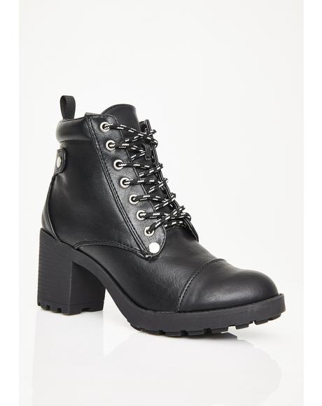 Blinded Guilt Ankle Boots