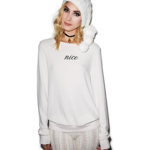 Wildfox couture nice baggy beach jumper dolls kill for Couture a nice