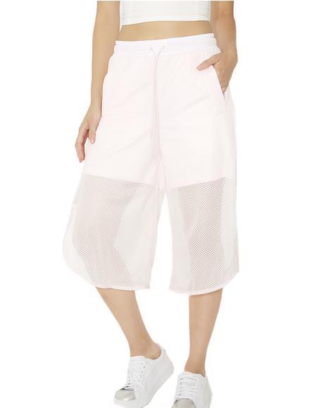 Xtreme Mesh Frill Shorts