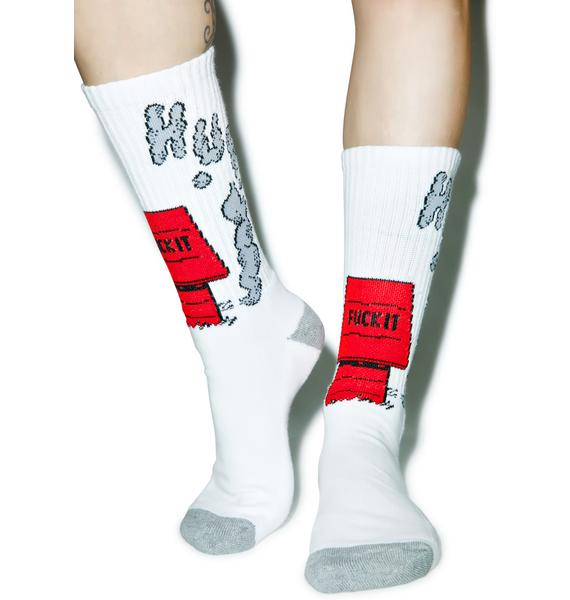 HUF Fuck it Socks