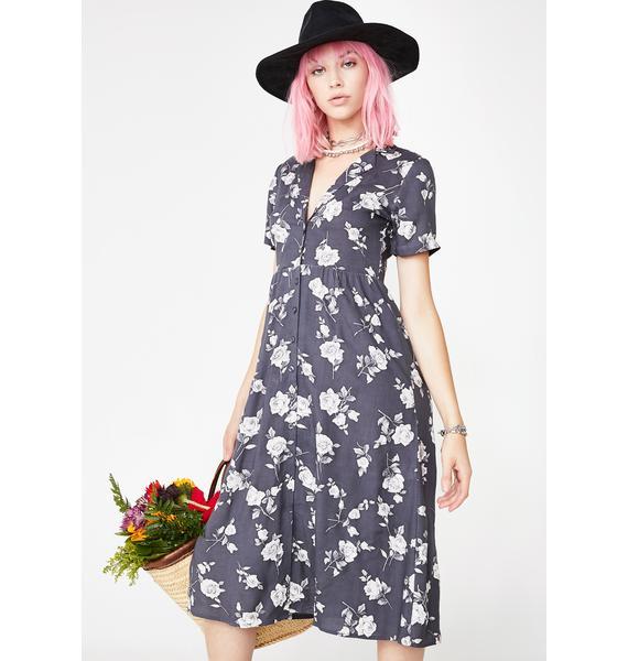 Motel Arthea Floral Dress