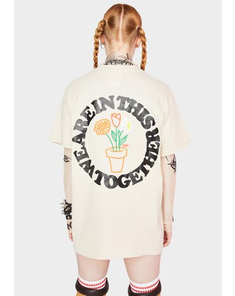 Let's Grow Together Graphic Tee