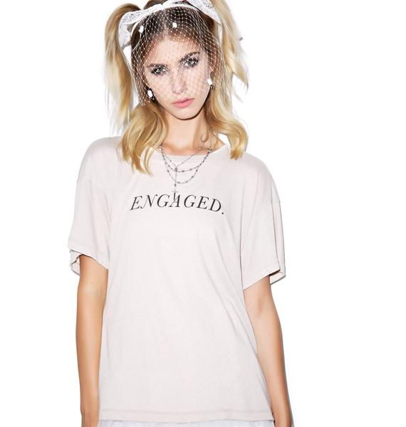 Wildfox Couture Engaged Unisex Tee