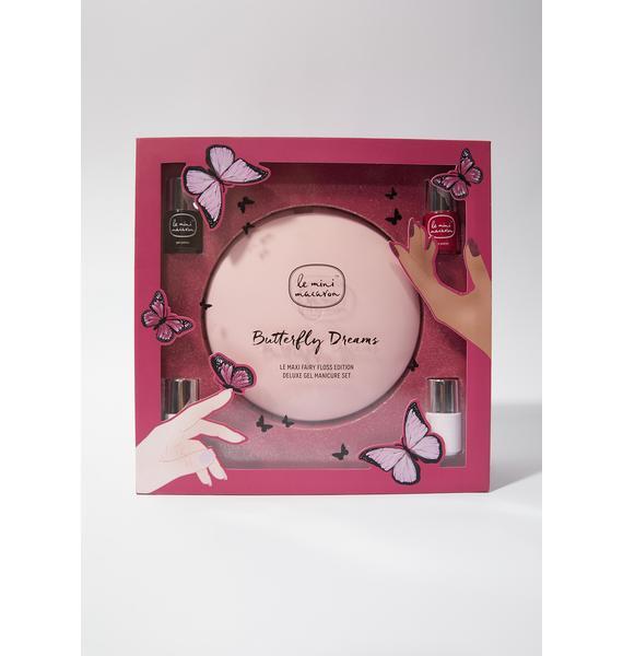Le Mini Macaron Butterfly Dreams Deluxe Gel Manicure Kit