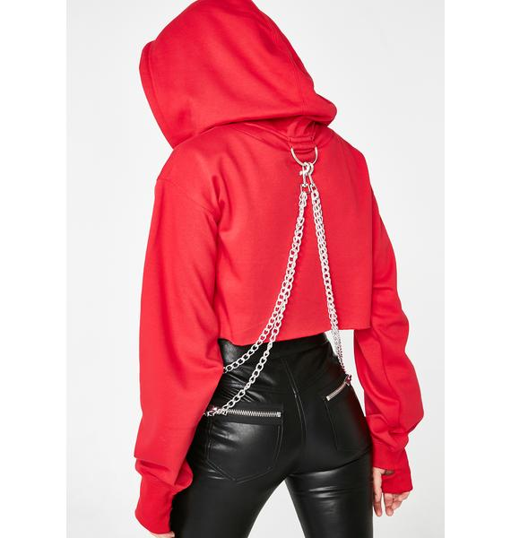 Current Mood Flame Chained N' Dangerous Hoodie