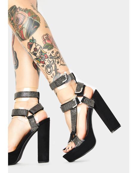 Glam Revenge Plot Platform Heels