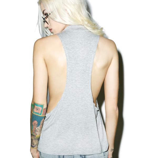 Barely Hangin\x92 On Tank Top