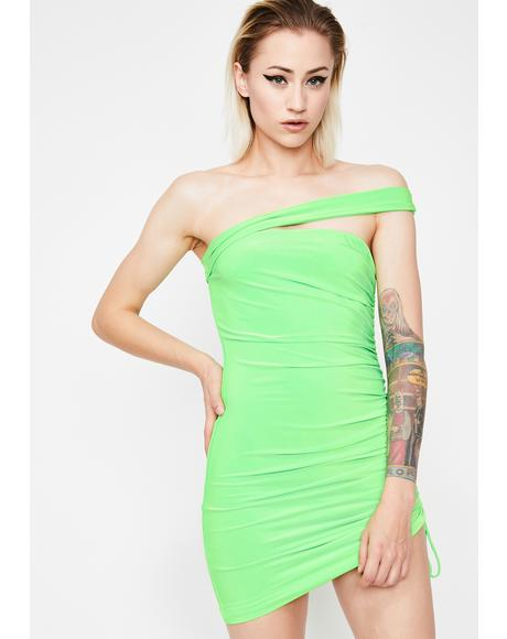 Toxic Babe Energy Mini Dress
