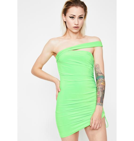 Toxic Babe Energy Mini Dress