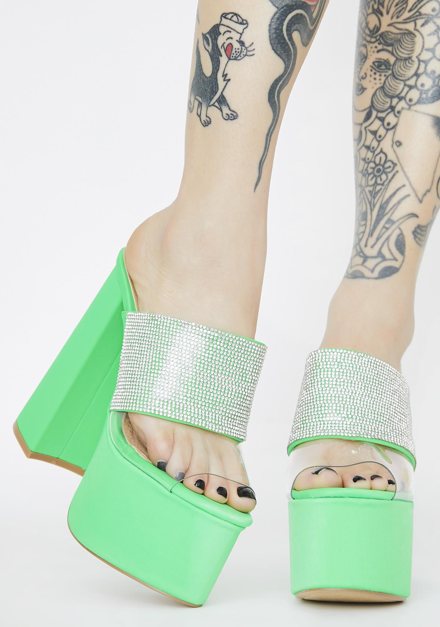 Kiwi Be A Dear Platform Heels