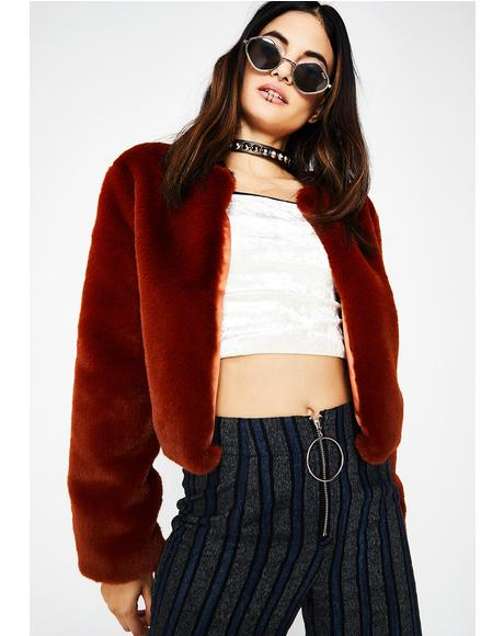 Sly Fox Furry Jacket