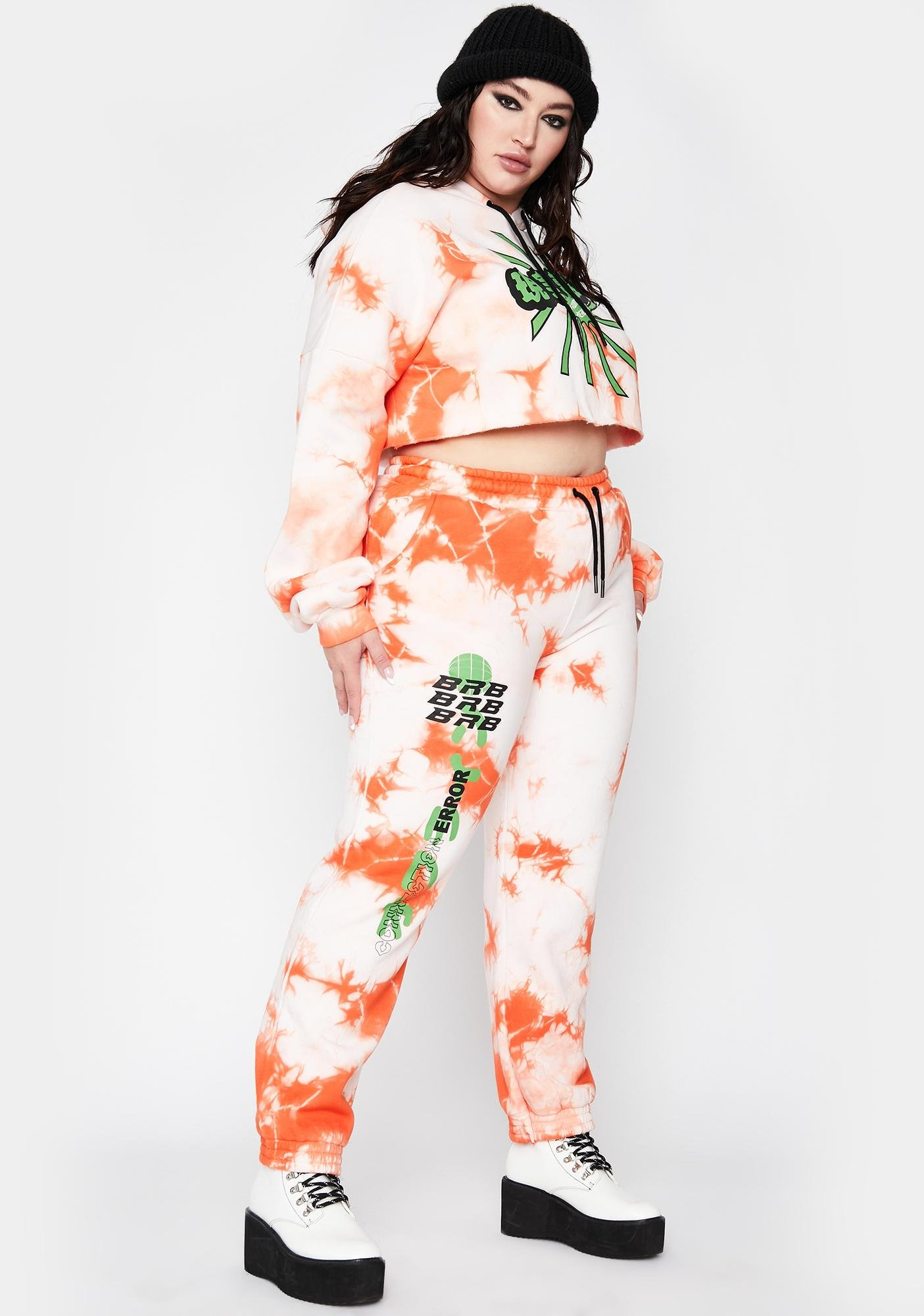 Current Mood Always Juicy Fresh Tie Dye Sweatpants