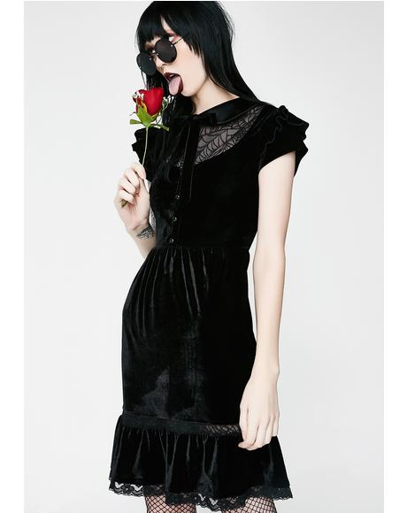 Creeped Out Babydoll Dress
