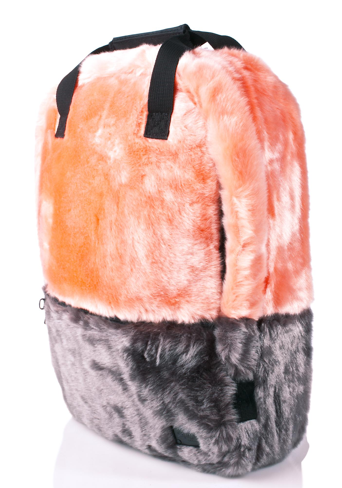 Spiral UK Faux Fur Coral OG Backpack