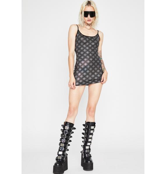 Date The DJ Mini Dress