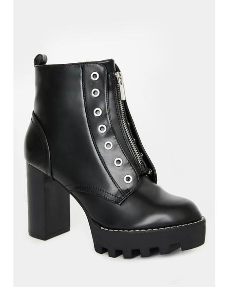Wicked Miss Intensity Ankle Booties