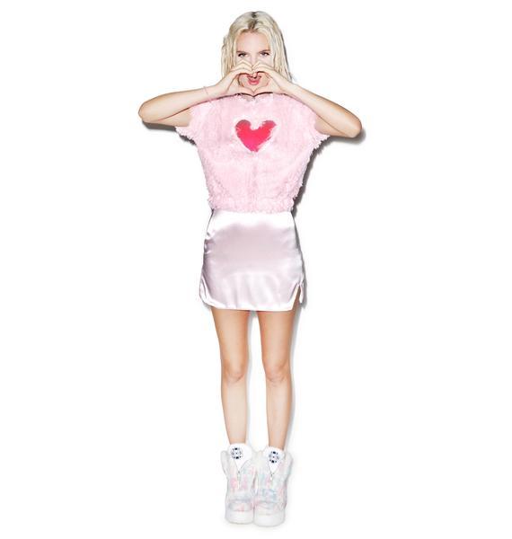 J Valentine Window To My Heart  Crop Top