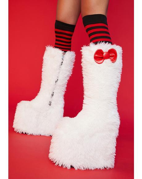 Skip In My Step Knee High Boots