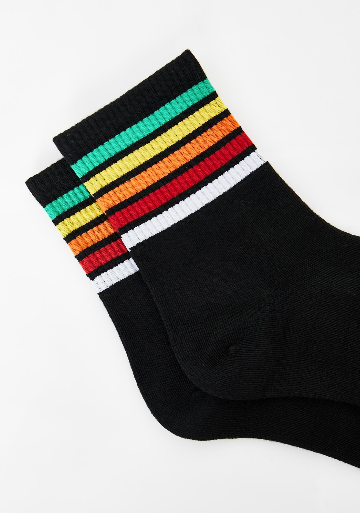 Cozy Babe Striped Socks