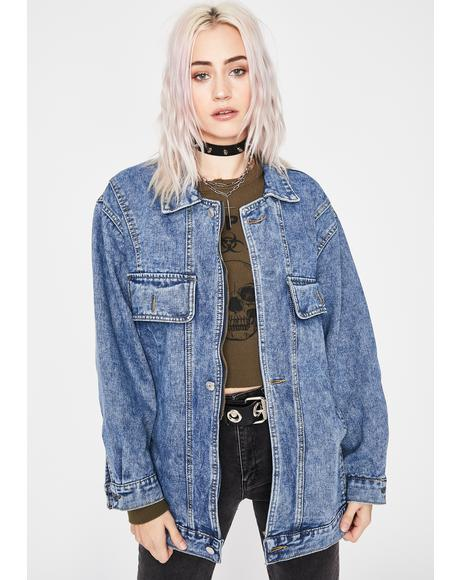 How's It Hangin Denim Jacket
