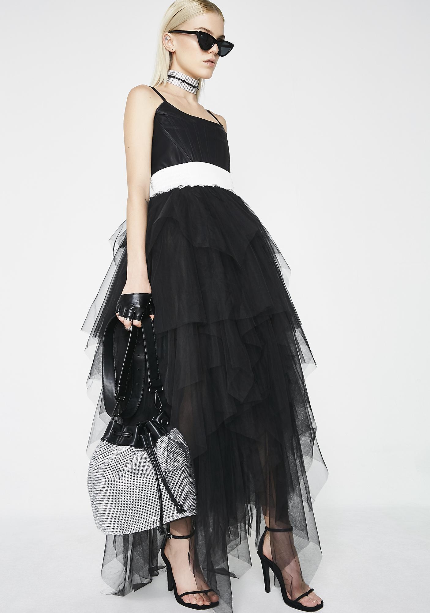 Kiki Riki Dark Fantasies Layered Skirt