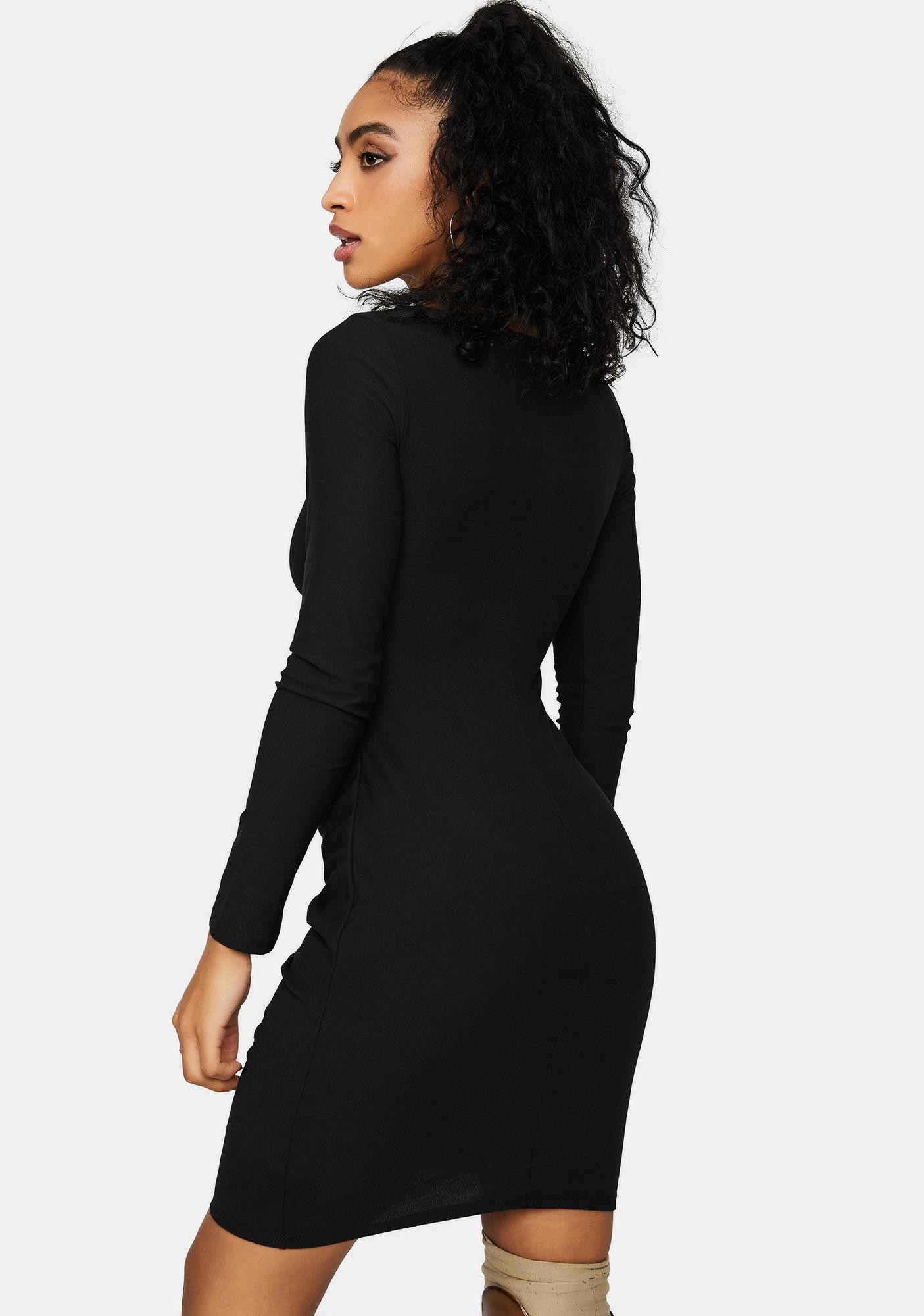 Actually In Love Cut Out Mini Dress