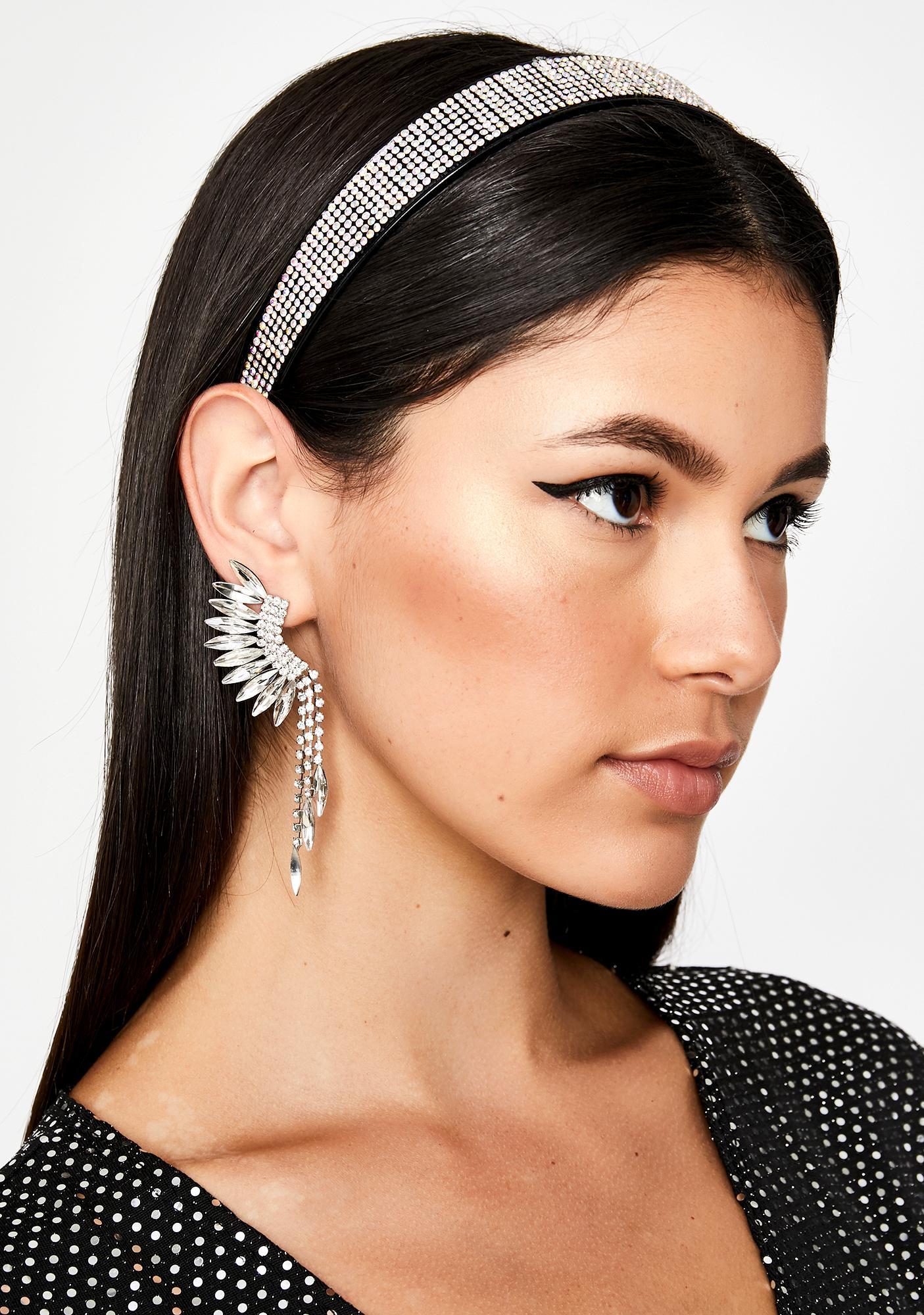 Sparkle Time Rhinestone Headband