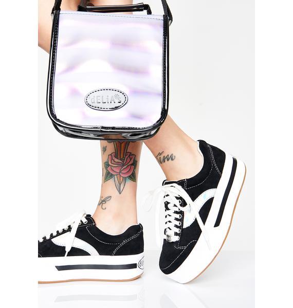 dELiA*s by Dolls Kill Cosmic Kick Skater Sneakers