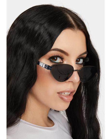 Snapshot Thin Frame Sunglasses