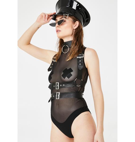 Deep Desire Harness Bodysuit