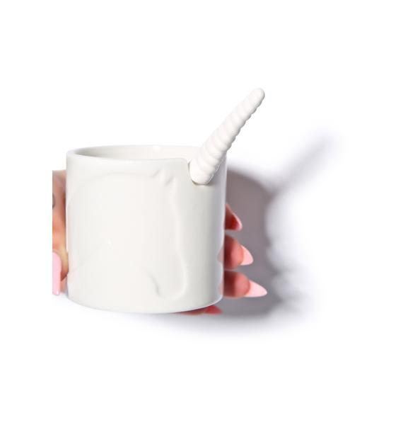 Cast A Spell Unicorn Sugar Bowl